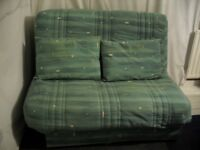Sofa bed (double), very sturdy. Blue £70 ono