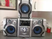 panasonic mash mp3 5 cd changer bI amp system