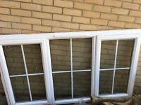 Upvc white window