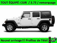 2013 Jeep WRANGLER UNLIMITED Sahara 2 TOIT cuir ratio 3.73 bluet