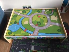 Small train/play table
