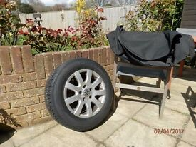 VW Touran/Golf New 195x65R15 Tyre on Rim