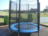 6 ft Trampoline with Enclosure