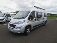 2019 AUTO-TRAIL TRIBUTE T-670 2 BERTH CAMPERVAN WITH ONLY 8K MILES ANDERSON MOTORHOME SALES