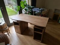 Sturdy Office Desk with cabinets