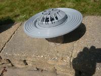 Osma domed roof drain 82mm