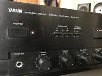Yamaha 430w natural Sound amp hifi separates