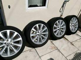 """20"""" Alloys and tyres"""
