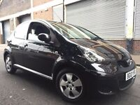Toyota Aygo 2010 1.0 Black Multimode A/C 5 door AUTOMATIC, 1 OWNER, FULL SERVICE HISTORY, LOW MILES