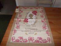 Ulster Weavers Cotton Tea Towel Queens Diamond Jubilee Design New