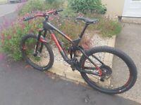 Marin Mount Vision 9 full suspension carbon mountain bike