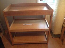 Mamas&Papas solid wood changing unit