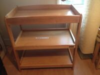 Mamas&Papas solid wood changing unit