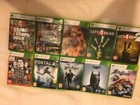 bundle of xbox 360 games (10)