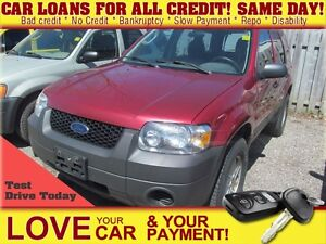 2006 Ford Escape XLS * FRESH TRADE * AS IS