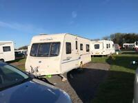 Bailey Ranger GT60 520/4 2009 4 Berth Caravan with Fixed Bed with Porch Awning