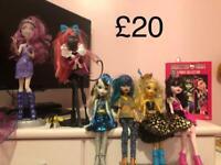 Monster High Dolls & DVD