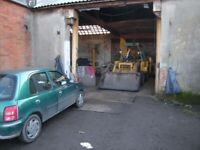 2 large workshops with land for sale