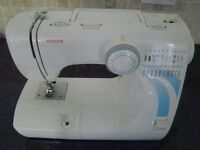 Toyota RS2000 sewing machine selling for spare or repair as no footpedal