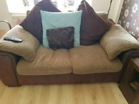 3 Seater Sofa + 2 Seater Sofa + large footrest
