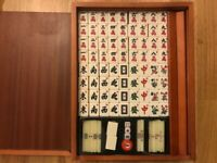 High Quality Mah Jong Set of 148 Tiles With 3 Dices and Point Bars