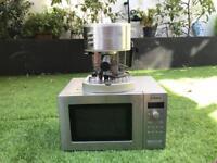 Microwave & Coffee Machine