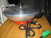 Electric Wok Not used