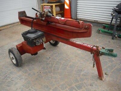 2009 Vertical Horizontal Portable Towable Gas Log Splitter W Briggs Engine
