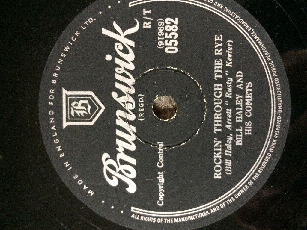 Bill Haley and his Comets - 78 record.