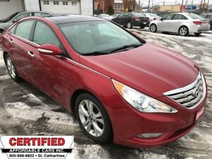 2013 Hyundai Sonata Limited ** NAV, BACKUP CAM, HTD LEATH **