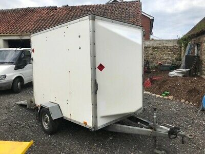Blueline 8x5 single axle box trailer lightweight only 400 kg
