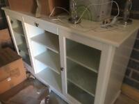 WHITE WOOD CABINET #3