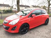 11 Reg Vauxhall Corsa 1.2 LIMITED EDITION 3dr not fiesta clio punto focus astra 207 polo micra 307