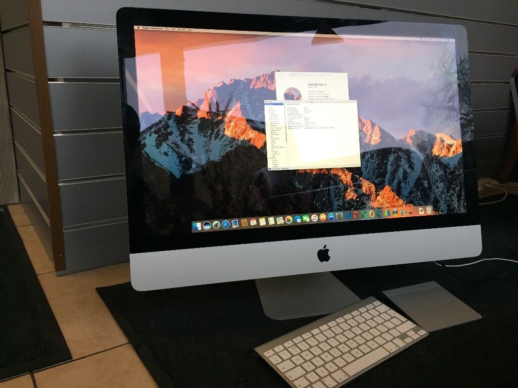 "iMac 27"" Intel Core i5 2011 2.7GHz 8GB RAM 1TB HDD Apple Wireless KeyboardWireless TrackPadin LondonGumtree - Selling iMac 27"" (All In One) Intel Core i5 2.7GHz 8GB RAM (upgraded) 1TB Hard Drive fully working. Its In good condition Comes with original Apple wireless Keyboard & Apple Wireless TrackPad. Has Sierra MacOS 10.12 and Office 2011 ! Apple iMac 27""..."