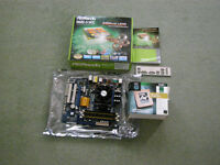 Asrock N68C-S-UCC Motherboard with AMD Athlon X2 64 CPU & RAM