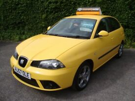 SEAT IBIZA 1.4 FORMULA SPORT 100 5 door finished in YELLOW