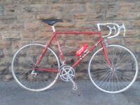 Poyners Road Bike Racer Reynolds 531 L'eroica Retro Vintage Classic Bike Campagnolo Cinelli