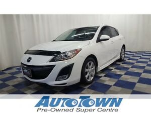 2011 Mazda Mazda3 Sport GS/ACCIDENT FREE/SUNROOF/BLUETOOTH