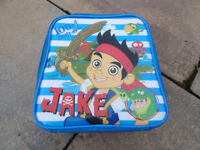 disney jake and the neverland pirates lunch box/bag
