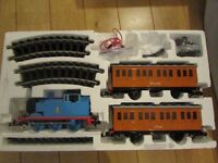 Bachmann Large G Scale Thomas the Tank Engine Train set plus one troublesome truck