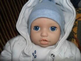 doll baby boy chou chou zaph creations fully working spotless