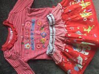 Oilily top and skirt age 24 months more like age 1