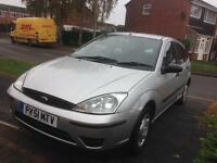 Ford Focus 1.8 TDCI, 2001, £195 spares/repairs