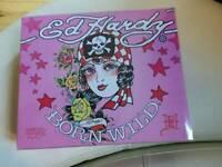 ED HARDY born wild perfume set