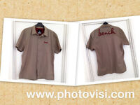 **BRAND NEW NEVER WORN** Mens size XL brown short sleeve Bench shirt, 100% cotton