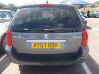 peugeot 307 diesel estate, new mot , p/x to clear