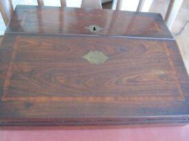 Antique portable writing desk 19th century