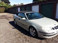 Saab convertible 2004, immaculate condition, real head turner.