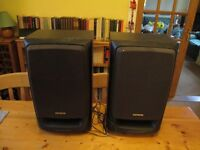 Aiwa bass reflex speaker system
