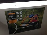 Halfords twin buggy trailer